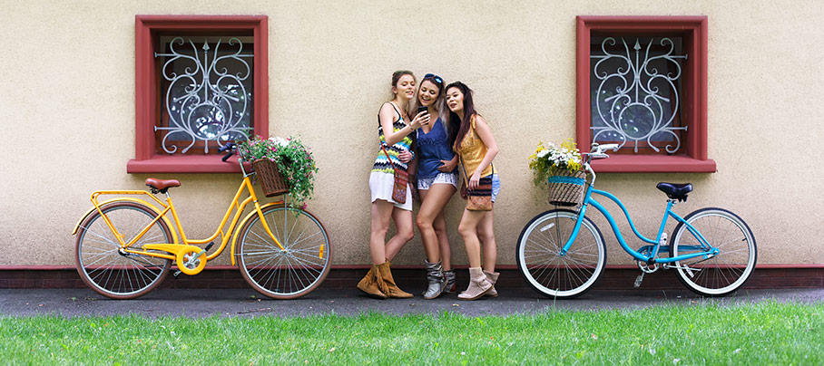 Fördelar med att köpa damcyklar online